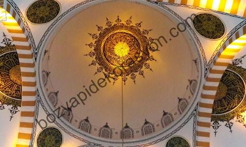 Bursa Cami İçi Nakkaş Süsleme Sanatı Ustası