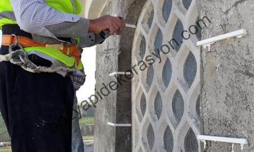 Cami Dış Cephe Duvarı Mozaik Kaplama Bursa