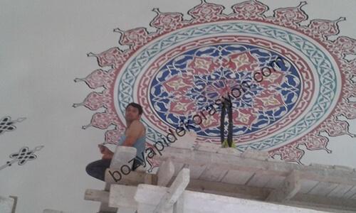 Cami İç Süsleme Nakkaş Ustası Bitlis