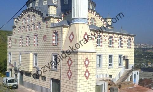 Camii Cephe Kaplaması - Mozaik Dış Cephe Isparta