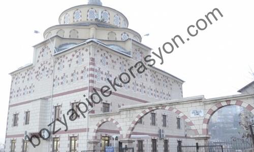 Camilerde Silme ve Taraklı Mozaik Kaplamaları Hakkari