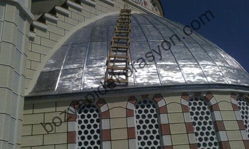 Çorum Camii Kubbesi Yapımı ve Kaplama İşleri