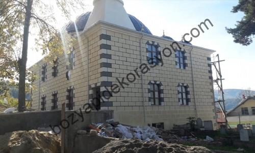Denizli Camii Dış Cephesi Mozaik Kaplaması Yapanlar