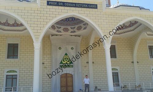 Dış Cephe Cami Mozaik Yapımı Kırklareli