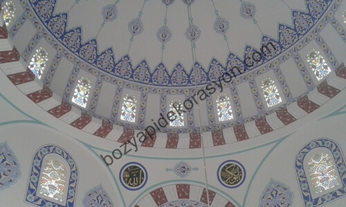 Edirne Camii İçi Nakış Süsleme Sanatı Ustası