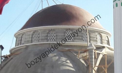 Erzincan Camii Kubbesi Kaplaması Bakım ve Tadilat işleri
