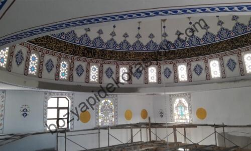 Gaziantep Camiilerin İç Süslemeleri ve Nakkaş İşleri