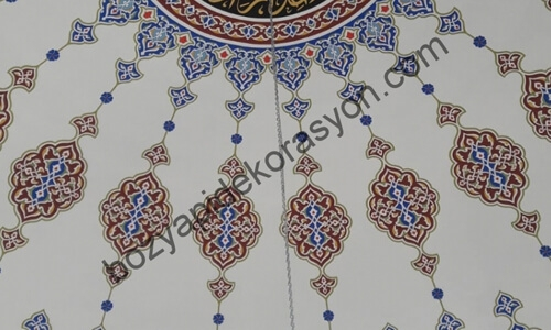 Giresun Camii İçi Süslemeleri Nakkaşlık Hizmeti