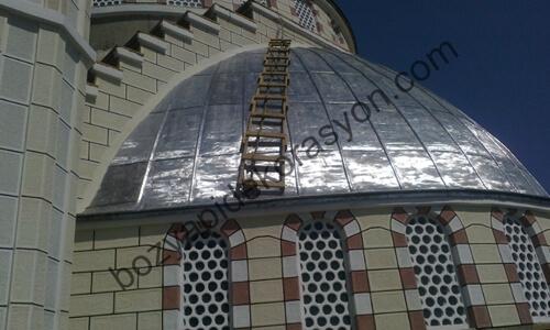 İçel Mersin Kurşun Kubbe ve Minare Kaplama İşleri