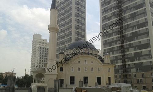 İstanbul Camii Dış Cepheleri Mozaik Duvar Yapımı