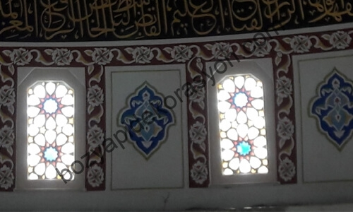 Kırklareli Camii Pencere Kenarı Süsleme Sanatı