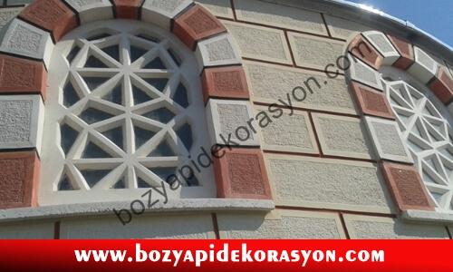 Kütahya Camii Dış Duvarlarının Mozaik Şeklinde Kaplaması İşleri