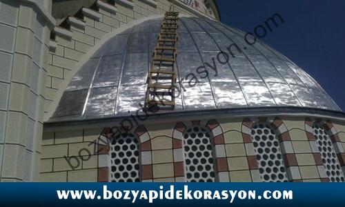 Malatya Camii Kubbesi Yapımı ve Kaplama Hizmetleri