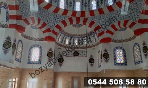 Siirt Camii İçlerinde Süsleme Desenleri ve Ustaları