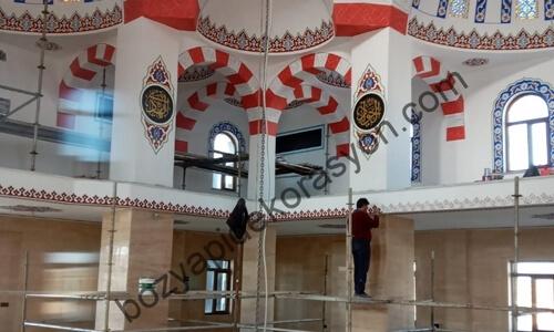 Tekirdağ Camiileri İçinde Süsleme Yapan Nakkaşlar