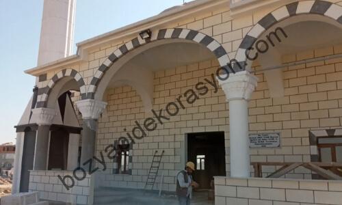 Trabzon Camii Dış Cephe Duvar Mozaik Kaplama Çeşitleri