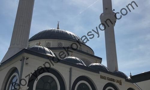 Trabzon Camii Kubbesi Alanları Alüminyum Kaplama Hizmeti